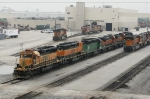 BNSF Galesburg Locomotive Facilities